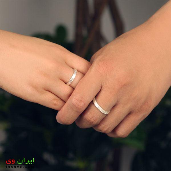 عکس حلقه ازدواج تو دست