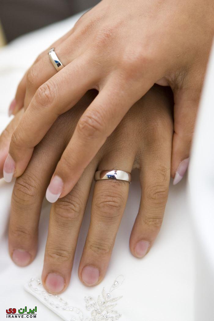 ست انگشتر عروس و داماد