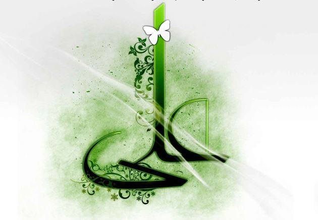 عکس نوشته پروفایل شهادت امام علی