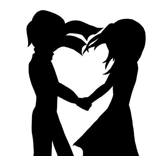 عکس پروفایل عاشقانه سیاه و سفید دختر و پسر