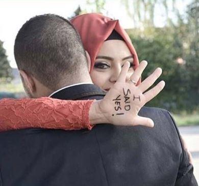 عکس پروفایل عاشقانه مذهبی با حجاب
