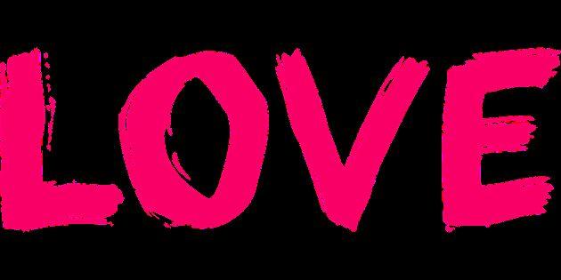 پروفایل عاشقانه صورتی LOVE