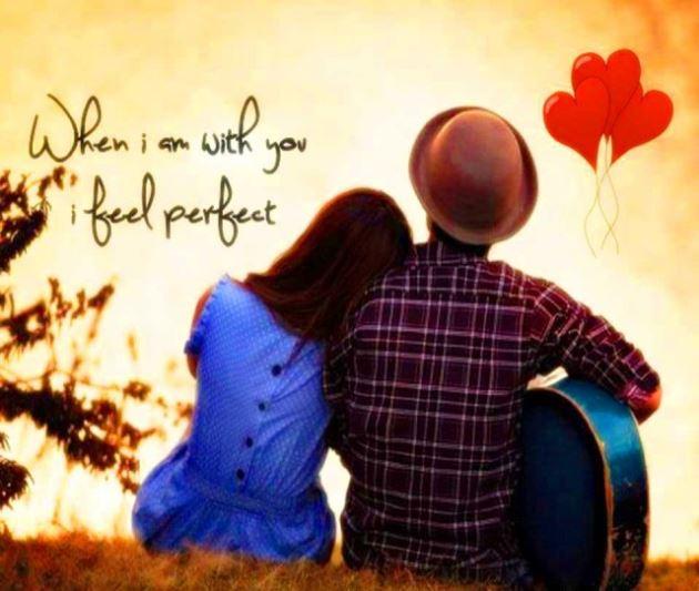 عکس پروفایل عاشقانه دختر و پسر در حال گیتار زدن
