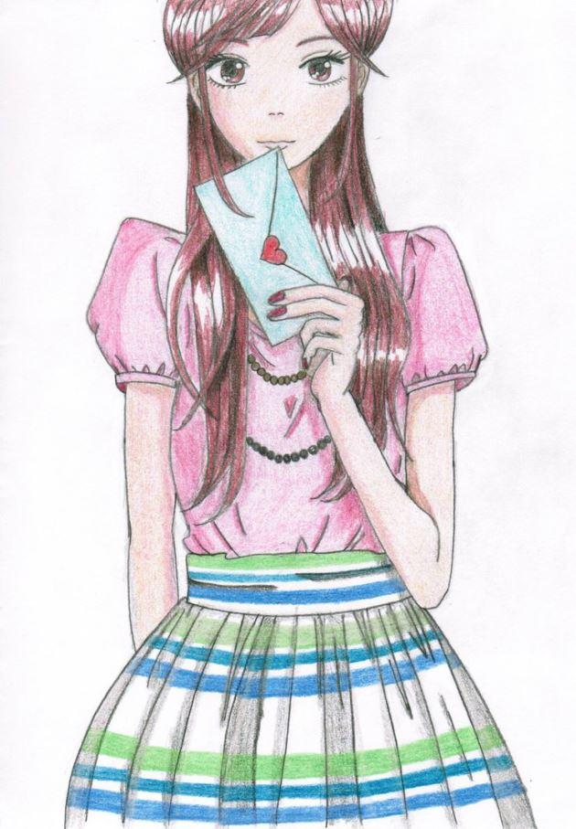 عکس پروفایل عاشقانه دخترونه با نامه