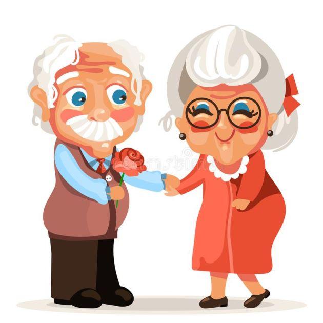 پروفایل عاشقانه پدر و مادر وقتی پیر میشن ولی هنوزم عاشق هم هستند
