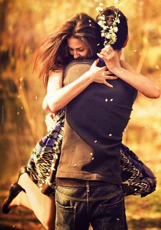 تصویر بغل کردن عشق برای پروفایل گوشی