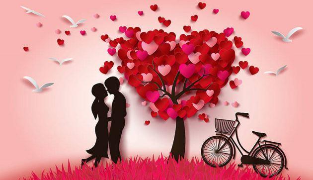 عکس پروفایل عاشقانه کارتونی دختر و پسر پای دختر