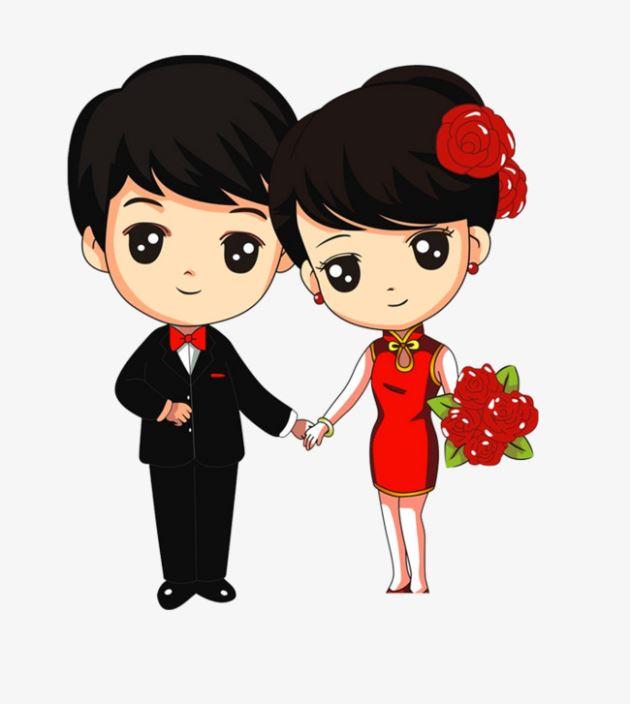 پروفایل برای عاشقانه نامزدی دختر دسته گل به دست
