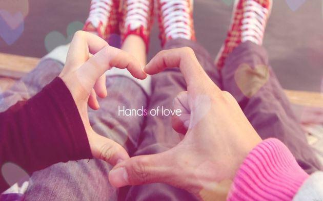 عکس پروفایل عاشقانه Hands Of love