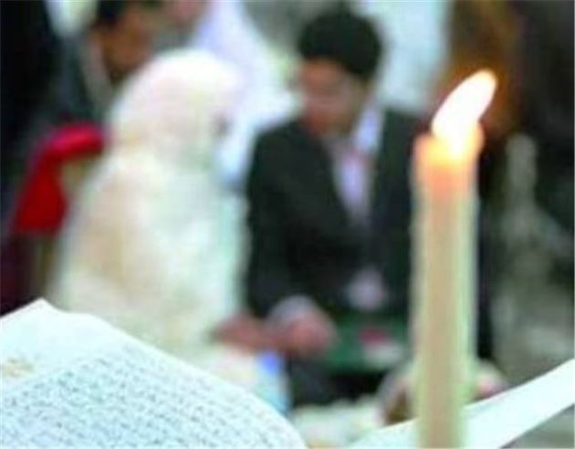 عکس پروفایل عاشقانه سر سفره عقد مراسم ازدواج ایرانی