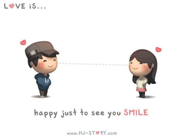 عکس پروفایل عاشقانه کارتونی خوشگل با نوشته