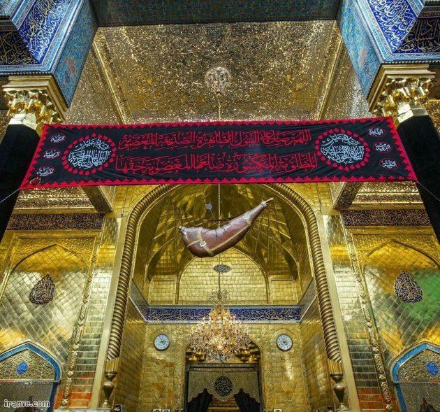 عکس پروفایل حرم حضرت ابوالفضل
