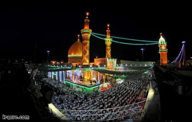 عکس حرم حضرت ابوالفضل برای پروفایل