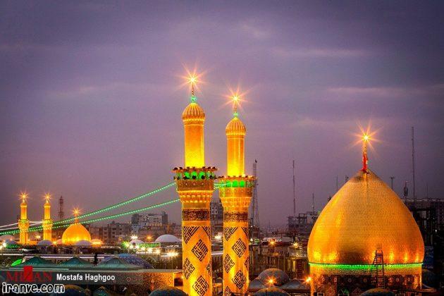 عکس حرم امام حسین بین الحرمین برای پروفایل