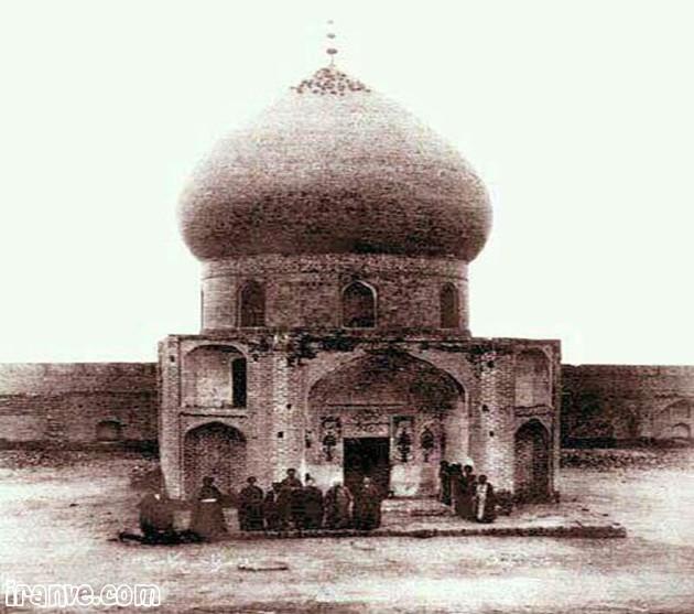 عکس حرم امام حسین عاشورا با نوشته پروفایل