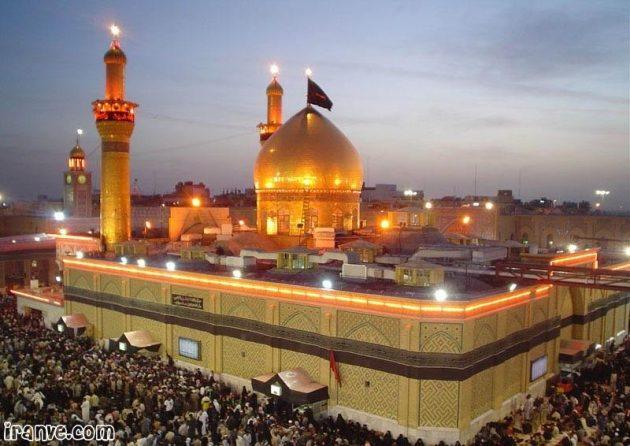 زیباترین عکس حرم امام حسین برای پروفایل