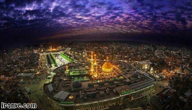 مجموعه عکس حرم امام حسین شب شهادت برا پروفایل