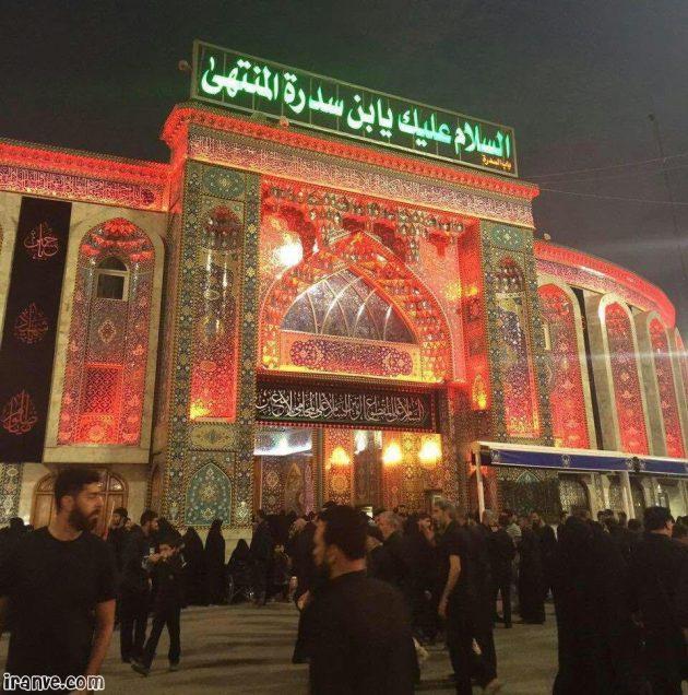 عکس حرم امام حسین محرمی برای پروفایل
