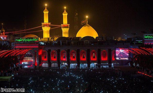 گلچین عکس های حرم امام حسین برای پروفایل