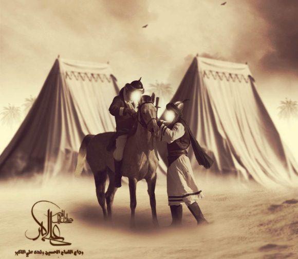 زیباترین عکس پروفایل حضرت علی اکبر