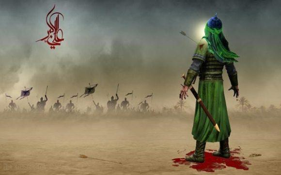 عکس نوشته پروفایل حضرت علی اکبر