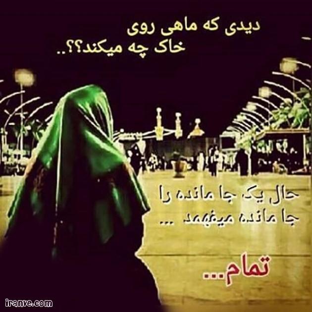 عکس پروفایل کربلا اربعین هستم حلال کنید