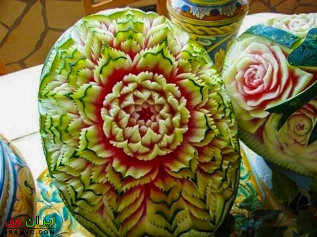 مدل هندوانه شب یلدا جدید , هندوانه چله عروس