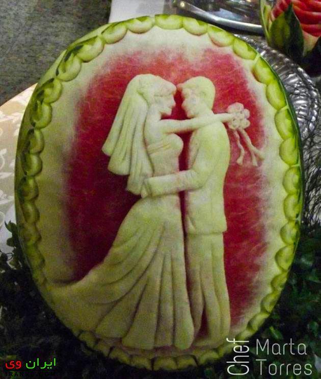 هندوانه شب یلدا بچه گانه , هندوانه کودکانه برای یلدا