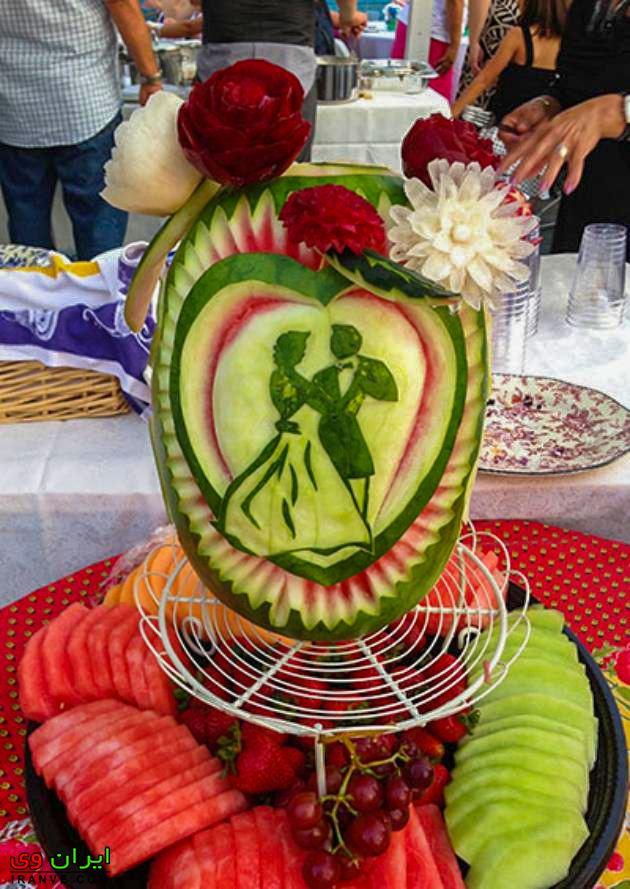 هندوانه شب یلدا عروس , هندوانه مخصوص یلدا جدید