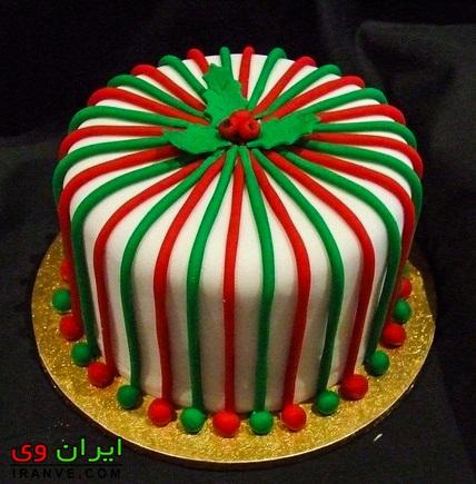 طرح کیک یلدا انار , عکس های کیک شب یلدا جدید