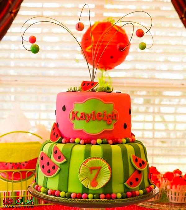 مدل کیک یلدا عروس , کیک شب یلدا ساده