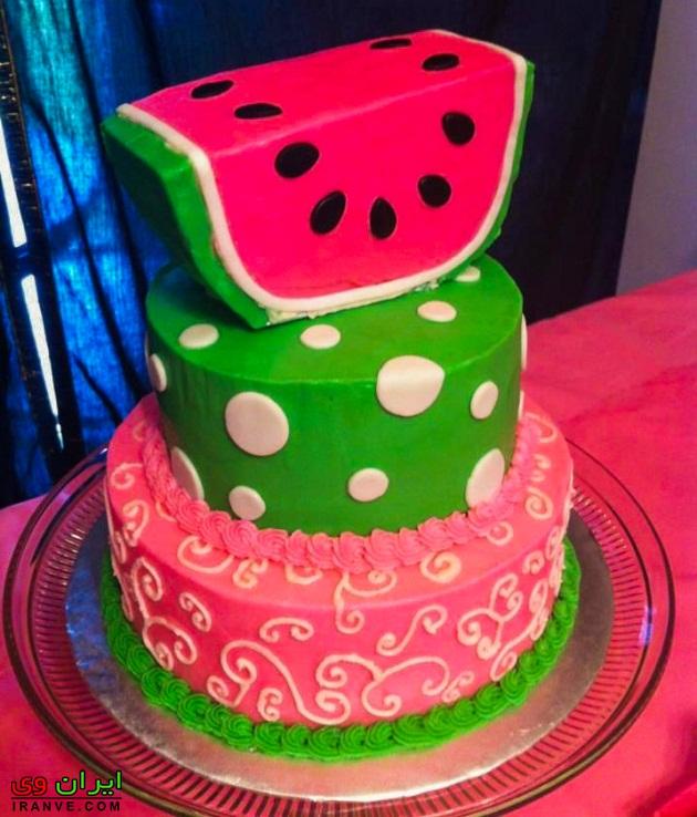 انواع مدل کیک یلدا آسان , طرز تهیه کیک شب یلدا چگونه است؟