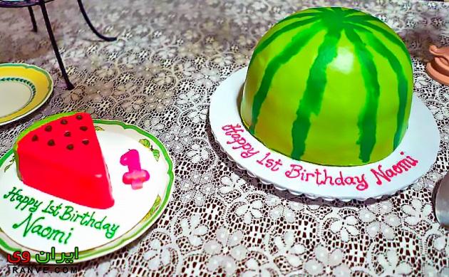 خوشگلترین کیک یلدا دخترونه , گلچینی از زیباترین مدل کیک شب یلدا