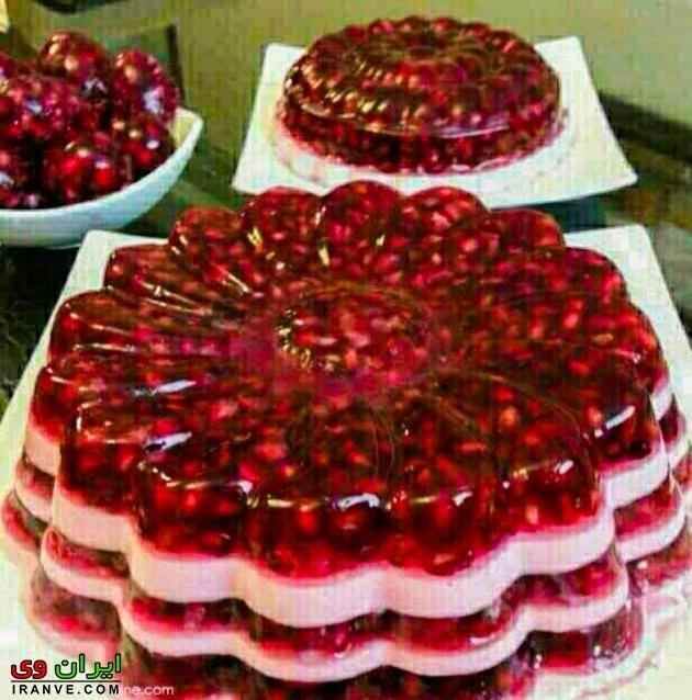 تزیین کیک شب یلدا , تزیین شب یلدا