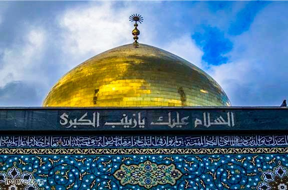 عکس حرم حضرت زینب برای پروفایل