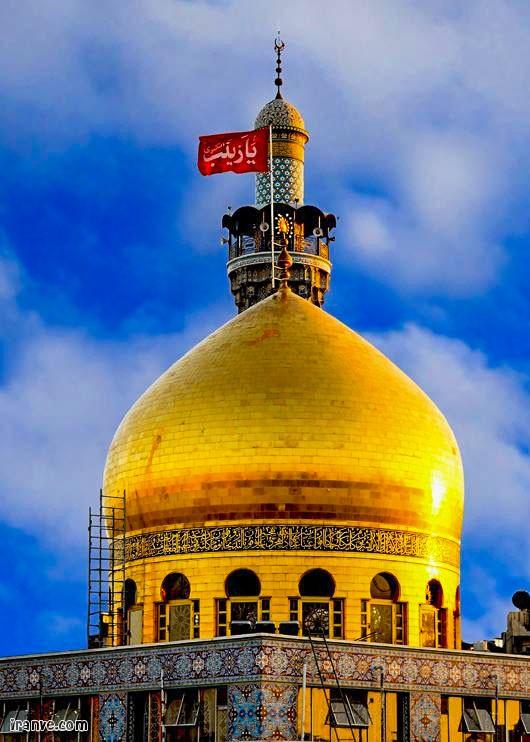 عکس حرم حضرت زینب بدون نوشته