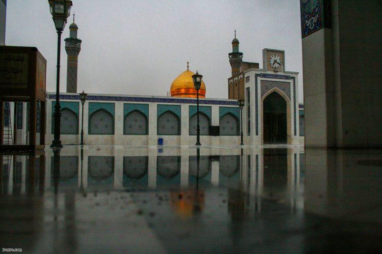 عکس صحن حرم حضرت زینب س