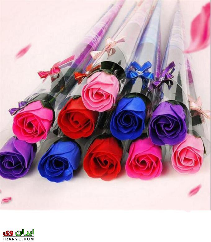 دسته گل ولنتاین فوق العاده خوشگل