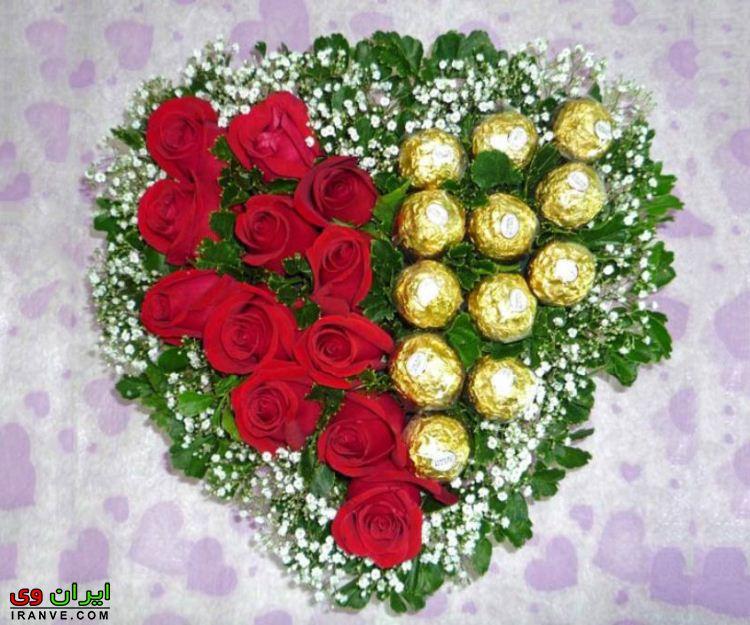 عکس دسته گل ولنتاین برای شوهر