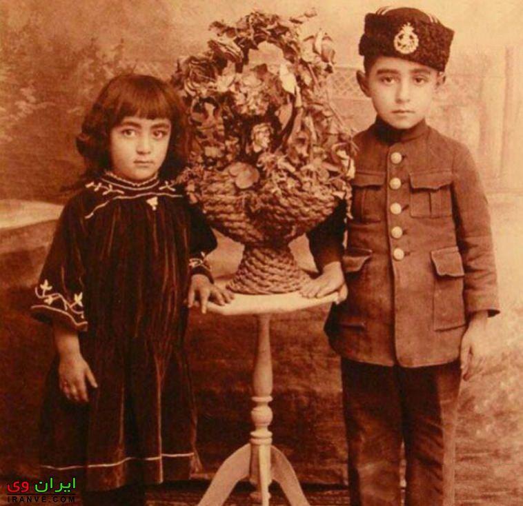 عکس جوانی جمشید مشایخی