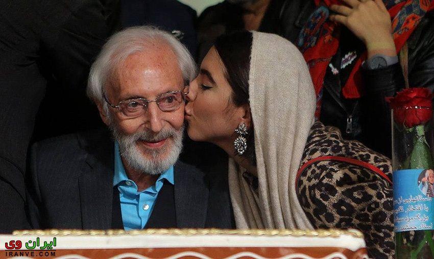 عکس تولد جمشید مشایخی بازیگر مطرح سینما تلویزیون