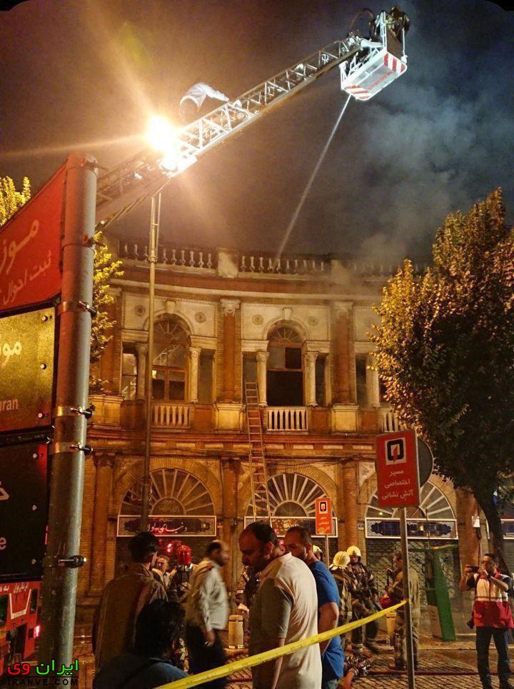 پایان مهار آتش سوزی حسن آباد