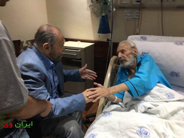 درگذشت محمد علی کشاورز و عیادت از مرحوم مشایخی