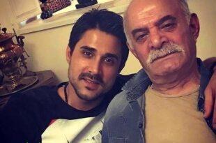 پسر سیروس گرجستانی با پسرش