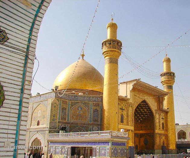 103 عکس پروفایل حرم امام علی علیه السلام