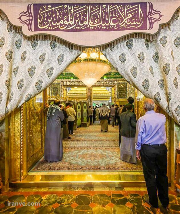 136 عکس پروفایل حرم امام علی علیه السلام