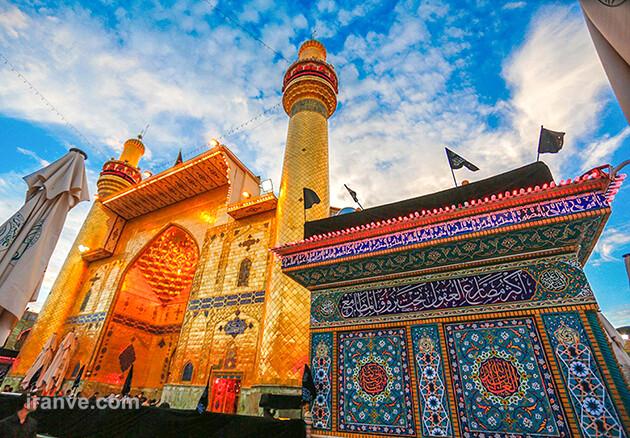 165 عکس پروفایل حرم امام علی علیه السلام