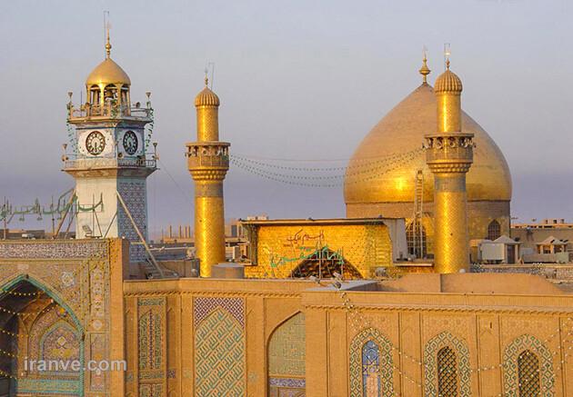 108 عکس پروفایل حرم امام علی علیه السلام