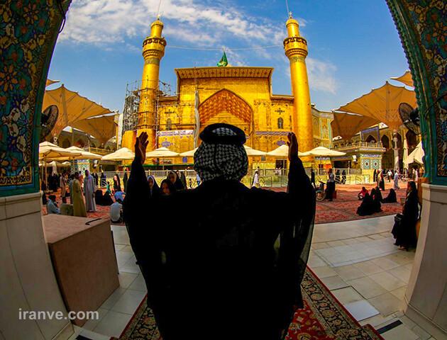 185 عکس پروفایل حرم امام علی علیه السلام