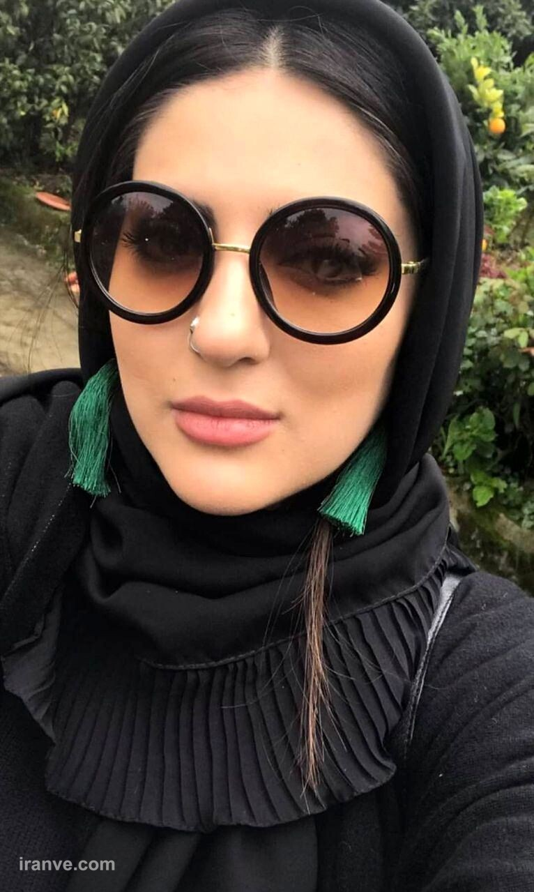عینک لاکچری هلیا امامی